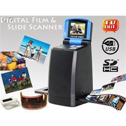 סורק נגטיבים ושקופיות עם צג LCD מובנה וחיבור לTV