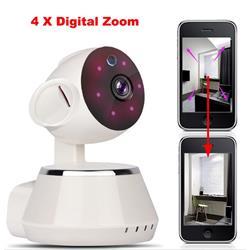 מצלמת IP HD ממונעת 360 מעלות כולל מיקרופון מובנה