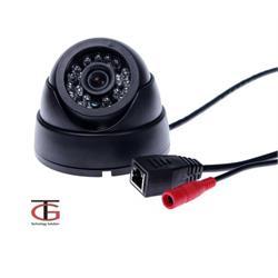 מצלמת IP כיפה כולל תאורת לילה IR עד 15 מטר כיסוי