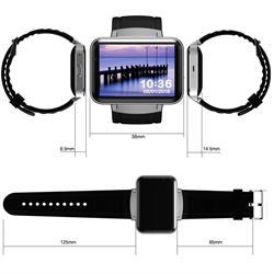 שעון חכם עם טלפון עצמאי עם צג ענק 2.2 אינץ' מבוסס מערכת הפעלה ANDROID עם עברית מלאה