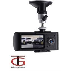 מצלמת דרך דואלית עם 2 מצלמות וGPS מובנה