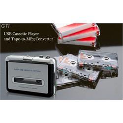 טייפ קלטות בחיבור USB למחשב להמרת קלטות אודיו ישנות ל- MP3