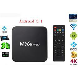 קופסת טלויזייה חכמה ANDROID 5.1 TV BOX MINI PC QUAD Core mini pc 4Kעם שלט חכם להפעלה פשוטה