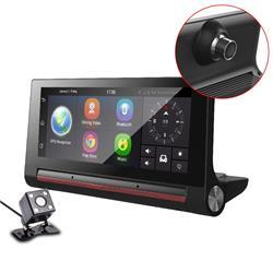 מערכת חכמה לרכב מבוססת מעבד עוצמתי מערכת הפעלהANDROID צג מגע ענק 7 אינץ'