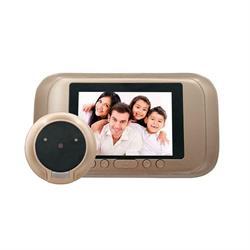 עינית דיגיטלית + צג LCD כולל הקלטה תאורת לילה ופעמון כניסה