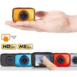 מצלמת וידאו HD משולבת לצילום ספורט דרך ואקסטרים צג מגע מנגנון אנטי-שוק !!!