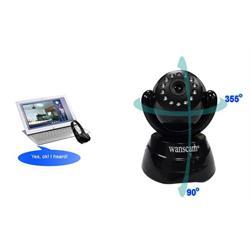 מצלמת IP ממונעת wanscam jw0004 צבע שחור