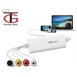 ממיר קלטות וידאו לDVD בחיבור USB 2.0 תמיכה ב-MAC