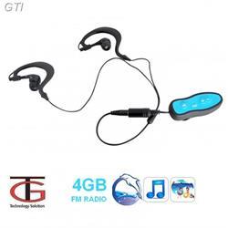 סנגן ספורט MP3 עם רדיו FM לשחיה ופעילויות ספורט