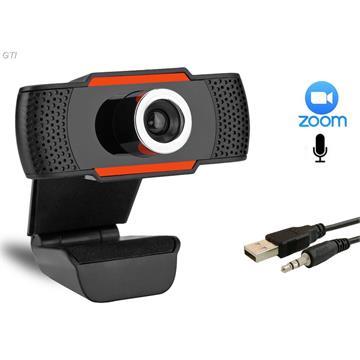מצלמת רשת עם מיקרופון מובנה FULL HD 1080P עבור ZOOM שיחות ועידה SKYPE ועוד