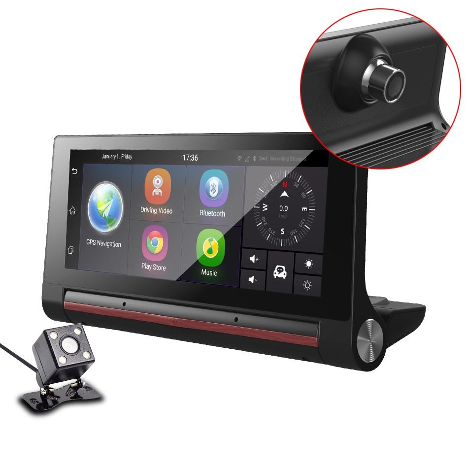 מערכת חכמה לרכב מבוססת מעבד עוצמתי מערכת הפעלהANDROID צג מגע ענק 7 אינץ