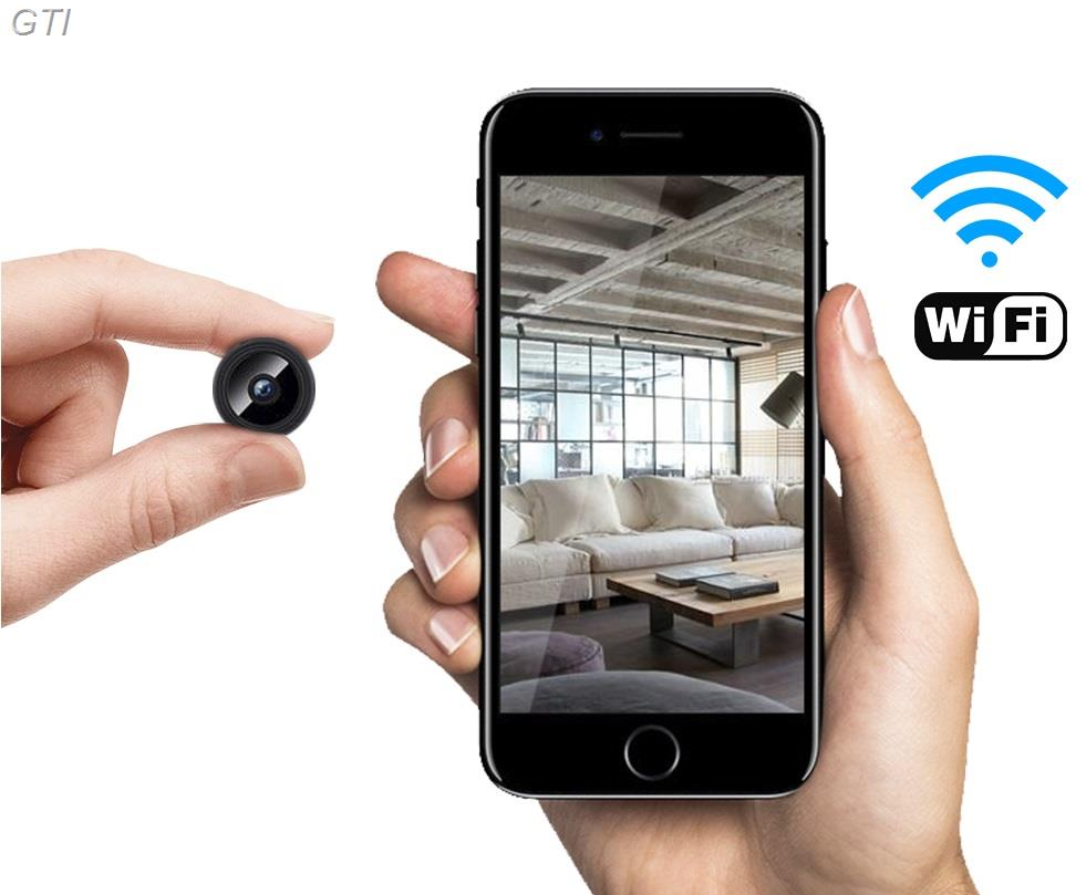 מצלמה אלחוטית זעירה FULL HD 1080P מיועדת לאבטחה וריגול