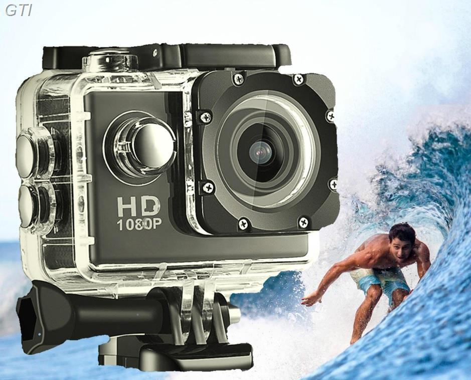 מצלמת אקסטרים full hd איכותית עם צג אחורי וטכנולוגיית HS לצילומי ספורט ואקסטרים